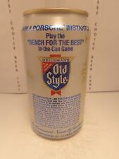 HEILEMAN OLD STYLE ALUMINUM PULL TAB BEER CAN #3  WIN A PORCHE INSTANTLY
