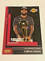 2019-20 Panini Instant Basketball Los Angeles Lakers Set #13 - LeBron James