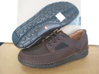 NEW CLARKS UN STRUCTURED UN NATURE TIME LEATHER SHOES SIZE 10.5,11,12 H wide fit
