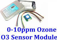 O3 Ozone Sensor Module Electrochemical Gas Analyzer Reader Detector 0 -10 ppm