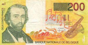 Belgium 200 Francs 1995 P-148