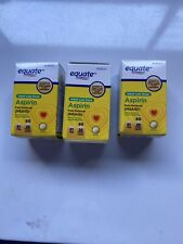 Equate Adult Low Dose Aspirin Pain Reliever 81 mg 180 Coated Tablets Ex 02/2022