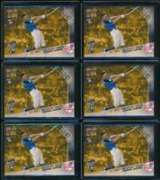2017 Topps Now Aaron Judge RC HRDB-1 Rookie 6 Card Lot Home Run Derby Gold Bonus