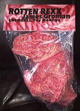 """ROTTEN REXX MEAT MARBLED By JAMES GROMAN 12"""" Kaiju Sofubi Nagnagnag Mvh RARE!"""