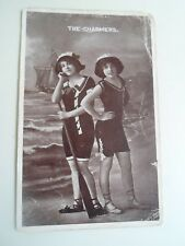 THE CHARMERS Seaside Girls In Vintage Swimming Costumes Retro Postcard    §A2138