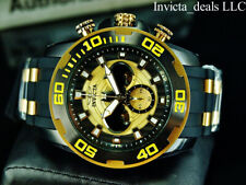 Invicta Mens 50mm DC Comics SCUBA BATMAN Chrono Limited Ed Black/Yellow SS Watch