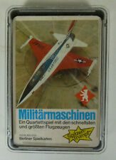 Quartett: Militärmaschinen , Berliner Spielkarten NR. 6316791