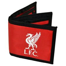 Liverpool Fc Football Crest Nylon Money Wallet, Red - Canvas Wallet L Anfield
