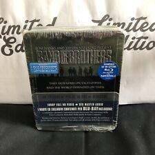 BAND OF BROTHERS -cofanetto di metallo TINBOX+DIGIPACK-blu ray-6 dischi-steel