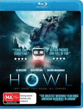 Howl (Blu-ray) HORROR Last Train. Full Moon. Werewolf [Region B] NEW/SEALED