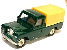 SPOT ON TRIANG TRI ANG 308 GREEN LAND ROVER & CANOPY RESTORED TOYS MODEL 1/42
