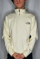 The North Face Womens Small Cream Apex Bionic ANC4 Soft Shell Jacket Wind Proof