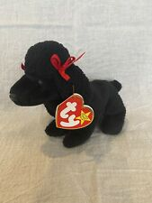 Ty Beanie Baby GiGi the Poodle Dog 1997/1998 w/ Tag Errors Plush Toy Rare