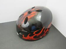 Bell Youth Helmet - Flames Wicked