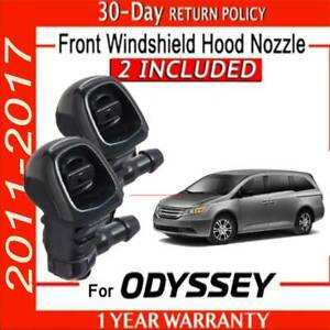 (2)  FOR HONDA ODYSSEY WINDSHIELD WASHER NOZZLE 2011 TO 2017 76810-TK8-A01