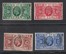 Great Britain # 226-29 Used Complete 1935 Silver Jubilee Set