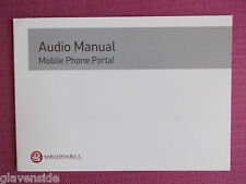 VAUXHALL MOBILE PHONE PORTAL HANDBOOK.CORSA ASTRA AGILA VECTRA COMBO (YJL 549)