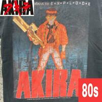 80S Akira T-Shirt Fashion Victim Anime T Movie Size M