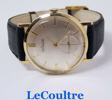 Vintage 14k LeCOULTRE Winding Mens Watch 1960s Cal. K818/CW * EXLNT* SERVICED