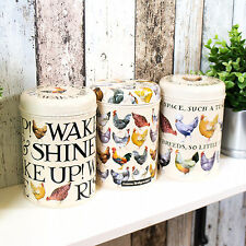 Cream Chickens Hens Farmyard Tea Coffee Sugar Country Kitchen Storage Canisters