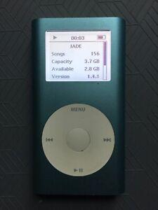 Apple Ipod Mini 1st Generation 4GB Blue,Model No A1051 (Used)