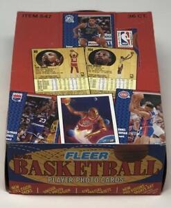 1991-92 Fleer Series 1 Basketball Box