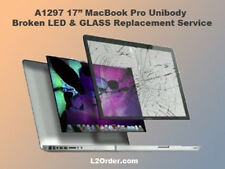 "A1297 17"" MacBook Pro Broken Glass & LCD/LED Replacement/Replace Repair Service"