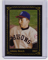 Johnny Bench, catcher '67 Buffalo Bisons - minor league player of the year