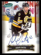 06 07 PARKHURST HOCKEY #85 ADAM OATES AUTO AUTOGRAPH SIGNED BOSTON BRUINS