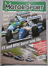 Motor Sport Magazine 05/1994 featuring Audi S2 Coupe