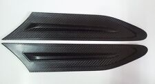 Carbon Side Vents Grill Grille Fender Air Duct flow Cover Trims For Subaru BRZ
