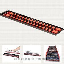 """ernst mfg 8453 RD socket boss high-density tray 2)18"""" socket rail socket system"""