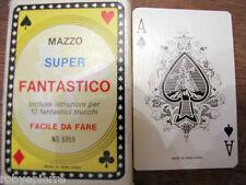 Carte da gioco MAZZO SUPER FANTASTICO no 6959 made in hong kong vintage RARO