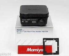 Mamiya RZ PRO II D/ RZ PRO II / RZ 120 6x4.5 FILM HOLDER / FILM BACK