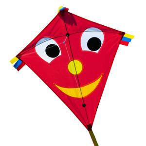 CIM Kinder Drachen Happy Eddy Red Einleiner Flugdrachen inkl. Drachenschnur