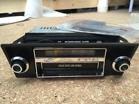 FORD XA XB GT GS FALCON FAIRMONT 8 TRACK DUMMY FACE WITH BRACKETS ONLY