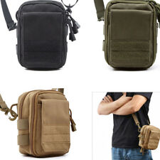 1000D Molle Hunting Airsoft Tools Phone Pouch Utility Tactical Bag w/Strap