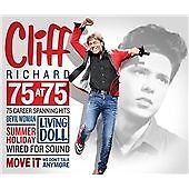 Cliff Richard - 75 at 75 (2015) 3 cd BRAND NEW FREE UK POSTAGE