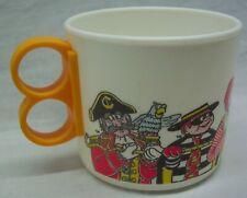 1983 VINTAGE McDonald's CHARACTERS Ronald Grimace Hamburglar PLASTIC MUG CUP