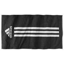 Adidas Toalla Negro DE RIZO Baño felpa playa NUEVO