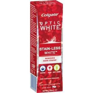 Colgate Optic White Stainless White Teeth Whitening Toothpaste 85g