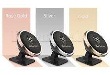 360º Universal KFZ Handy Halter Magnetische Halter Für iPhone Samsung GPS Silber
