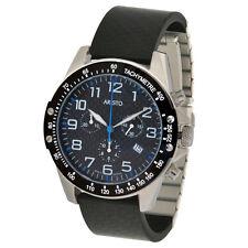 Aristo CARBON Trophy Quarzo-Cronografo modello 4h157b CARBON/RONDA in acciaio inox 5030