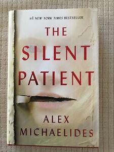 THE SILENT PATIENT by Alex Michaelides (2019, Hardcover)