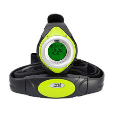 New Pyle PHRM38GR Green Heart Rate Monitor Watch, Calorie Counter & Target Zones