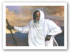 Holy Man Limited Edition Gilbert Young African American Art Print 8x11
