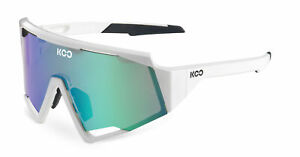 KOO Spectro Cycling Sports Sunglasses Zeiss Lens White/Green