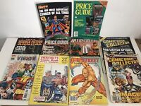 Vintage Comic Collectors Guide Magazines bundle, Overstreet, Marvel Vison+  (20