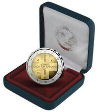 Coin / Munt 2014 Belgie 2 euro muntstuk 150 Jaar Rode Kruis in Belgie in Proof