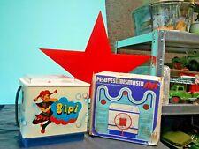 VINTAGE NORMA PIPPI WASHING MACHINE TIN TOY TALIN ESTONIA CCCP ORIGINAL BOX
